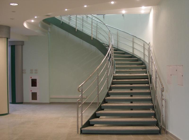 фото лестница поворот 3