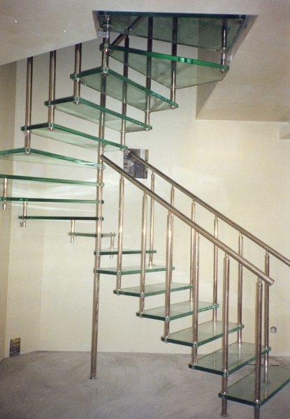 фото лестница поворот 4